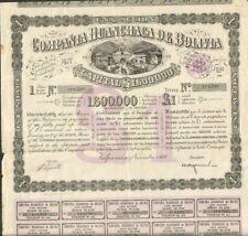 Compania HUANCHACA DE BOLIVIA (BOLIVIE) (A)