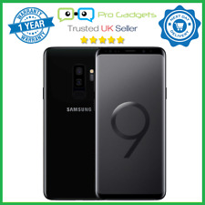 Samsung Galaxy S9 Plus 256GB Black Dual SIM G9650 Unlocked S9+ 1 Year Warranty