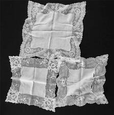Six Misc Vintage 1920'S-1940'S Cotton Handkerchiefs