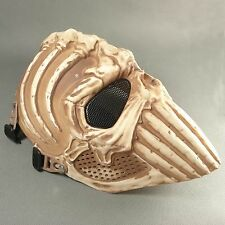 NEW COOL Paintball Airsoft CS Full Face Protection Terror Skull Spine Mask FDN09