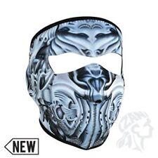 Bio Mechanical Neoprene Full Face Mask Biker Ski Motorcycle Costume Paintball