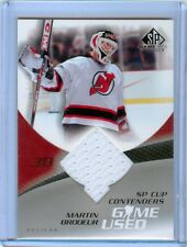MARTIN BRODEUR 04-05 SP GAME USED CUP CONTENDERS JERSEY