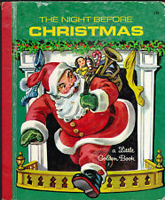 The Night Before Christmas Little Golden Book Corinne Malvern