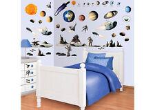 Walltastic Wandtattoo Wandsticker Kinderzimmer Weltraum Planeten Mondlandung