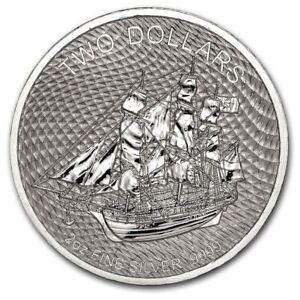 2020 Silver 2 oz Cook Islands Bounty Coin