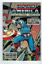 CAPTAIN AMERICA Collector's Preview #1 (1995 Marvel Comics)  *High Grade copy.