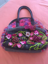 Knitted Next Large Handbag Quirky Autumn Winter Bag