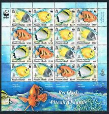 Mint Never Hinged/MNH Fish Pitcairn Islander Stamps