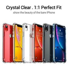 Case for iPhone  XR XS MAX ShockProof Soft Phone Transparent Cover Silicone