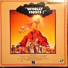 Wholly Moses! -  Laserdisc  Buy 6 For Free Shipping