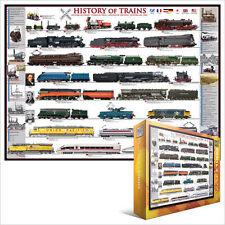 EG60000251 - Eurographics Puzzle 1000 Pièces - History Of Trains