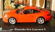PORSCHE 911 CARRERA S OLIEX 1/43 ROT DEUTSCHLAND GERMAN ROSSO RED ROUGE CARARAMA