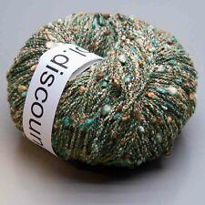 wool.discount Set 4 x Art. 0010 Fb. 002-002-002-002 / à 50g = 200g Wolle
