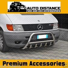 MERCEDES Vito W638 Bull Bar Nuge Bar(60mm) S.Steel 1998-2002