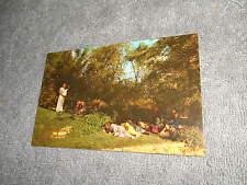 VINTAGE - POST CARD - B - JESUS IN THE GARDEN OF MT. OLIVE