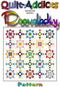 DOOVALACKY Patchwork Quilt Pattern