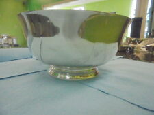 Tiffany & Co Sterling Silver Bowl Paul Revere Footed Style