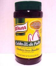 Knorr Chicken Flavor Granulated Bouillon 35.3 oz/1 kg Caldo Con Sabor De Pollo