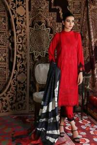 House of Charizma STITCHED Winter 2020 Reem/knockout Red in Medium size