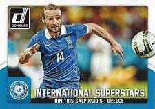 2015 Donruss Soccer 'International Superstars' #62 Dimitris Salpingidis Greece