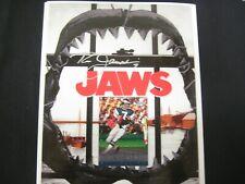 "RON JAWORSKI ""JAWS"" EAGLES LEGEND SIGNED 8X10 PHOTO ""POLISH RIFLE"" COA FREE SHIP"