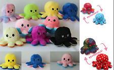 Wende Oktopus Octopus Plüschtier Glitzer Doppelseitiges  Toy pop It  Anhänger