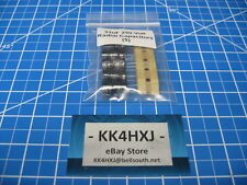 250V 33uF Aluminum Electrolytic Radial Capacitors - 5 Pieces
