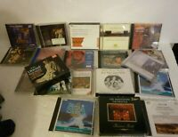 Lot of 20 Music CD's Classical Orchestra Opera Some Box Sets S-32