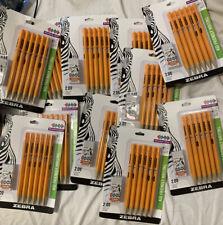 Zebra Mechanical Pencils Starters Lot (66pc)