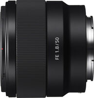 Open-Box: Sony - FE 50mm f/1.8 Prime Lens for Sony Alpha E-mount Cameras