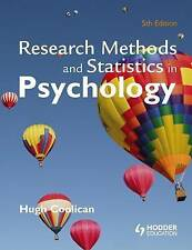 Research Methods and Statistics in Psychology by Hugh Coolican (Hardback, 2009)