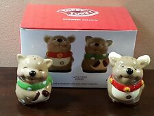 TOPSY TURVY SALT AND PEPPER SHAKERS NEW IN BOX