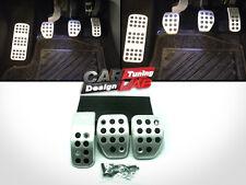 Manual Sport Aluminum Pedal Pads Covers Set Fits Peugeot 307 MT