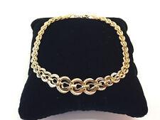 Armband Königsarmband Armkette Damen Massive Optik ECHT Gold 585er 14K 20cm