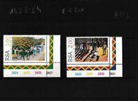 Südafrika 999-1000 (kompl.Ausg.) postfrisch Eckrandstücke
