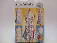 Butterick 4945 B4945, Five Full & Half Apron Designs, Wrap & Tie, Size (Sml-Lrg)