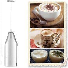 Electric Milk Frother Mini Multi-Purpose Steel Handheld Mixers USPS Hand Blender