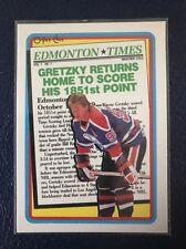 WAYNE GRETZKY Oilers  1990-91 O-Pee-Chee TRIBUTE #2  NM/MT+ w/Top Loader!