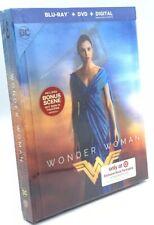 Wonder Woman (Blu-ray+DVD+Digital, 2017; Target Exclusive Lenticular DigiBook)
