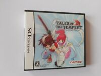 Tales of the Tempest   Namco RPG   Nintendo DS DSi 3DS   Complete