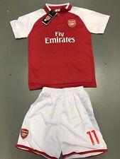 Arsenal #11 Ozil Soccer Jersey Set