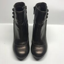 Predictions Women's high hill boots, Size 6