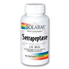 Solaray Serrapeptase (antiinflamatorio) 90 Veg Tapas