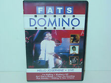 "*****DVD-FATS DOMINO""HELLO JOSEPHINE-LIVE""-2005 Delta Entertainment*****"