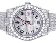 Mens Rolex 116264 Datejust Thunderbird Turn-O-Graph 36MM Diamond Watch 14.75 Ct