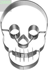 Totenkopf 7 cm Präge- Ausstecher Keksausstecher Ausstechform Halloween Skull