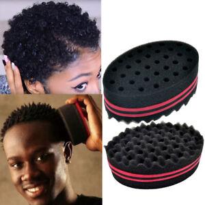 Wave Barber Sponge Hair Brush Afro Curl Twist Dreads Coil Wave Men Women