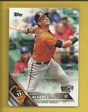 Dariel Alvarez RC 2016 Topps Series 1 Rookie Card # 311 Baltimore Orioles