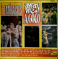 SMOKEY ROBINSON & MIRACLES - AWAY WE A-GOGO, UK, Tam Mot, Album,STML 11044  '66
