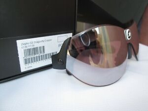 Assos Zegho G2 Dragonfly Copper Cycling Sunglasses, incl. Clear & Optical Lenses